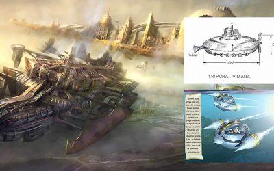Vaimanika-shastra, el antiguo libro con instrucciones para construir naves interplanetarias