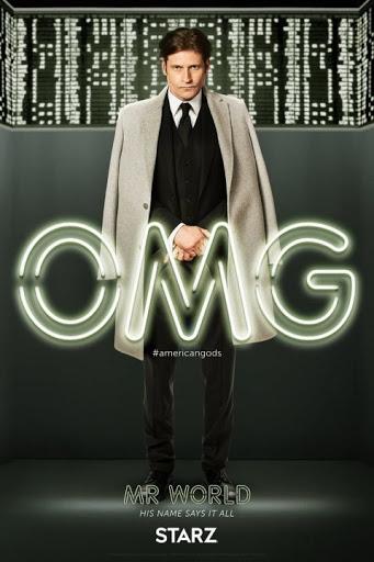 Imagen promocional de Mr. World – Su nombre lo dice todo. Quien parece ser el líder del nuevo panteón de dioses.