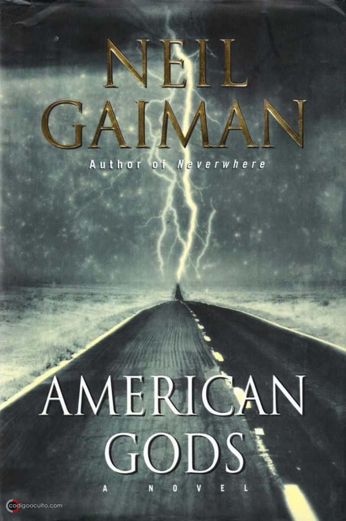 "Libro ""American Gods"" del autor Neil Gaiman"