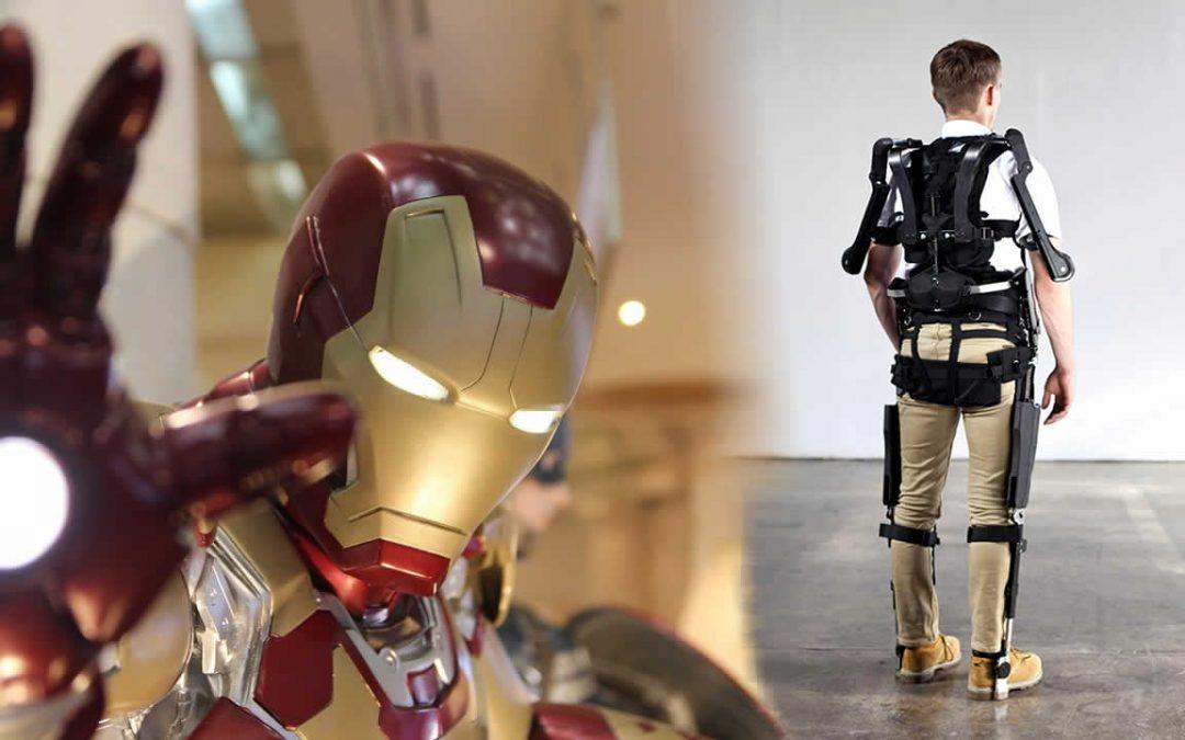 La armadura de «Iron Man» que muchos podrán utilizar muy pronto (VÍDEO)