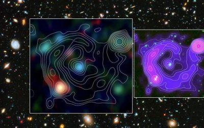 Astrónomos detectan otro «círculo fantasmal» misterioso en el espacio extragaláctico