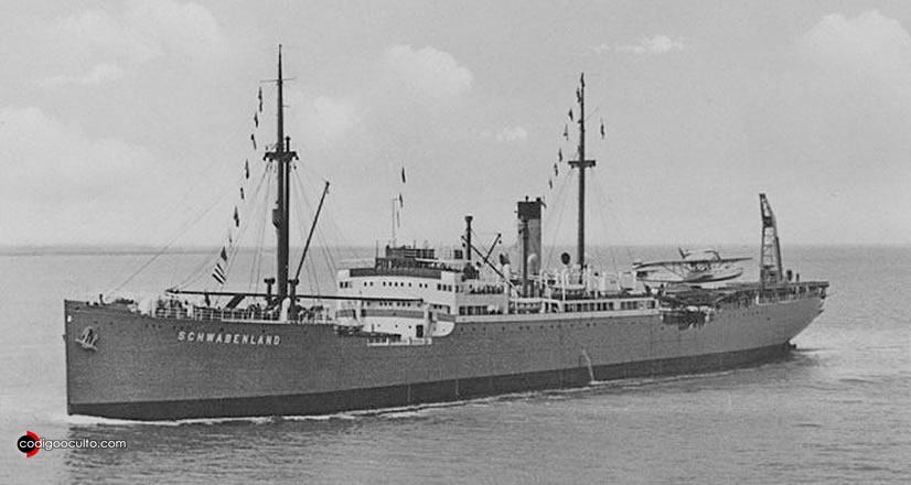 Barco durante la Segunda Guerra Mundial