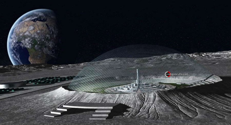 Representación de bases en la Luna