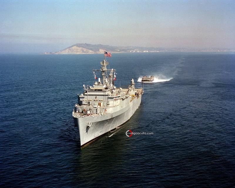 """Este no es el primer caso de su tipo, semanas atrás se informó otro caso en que """"drones"""" acecharon a buques de la Marina de EE. UU."""