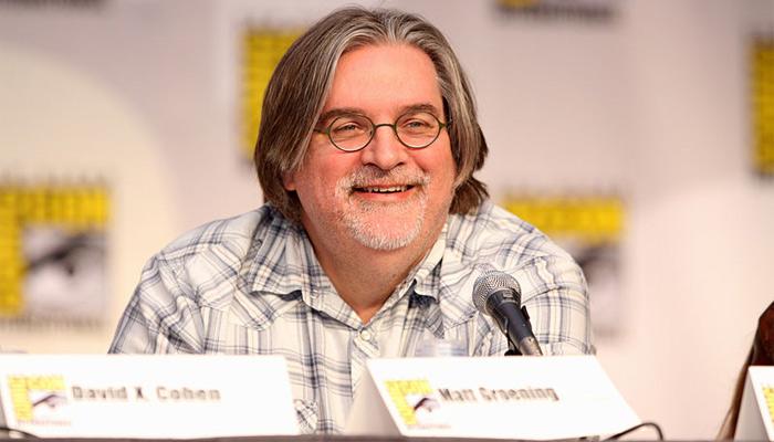 Matt Groening se ha visto envuelto en polémicas por las predicciones de Los Simpson
