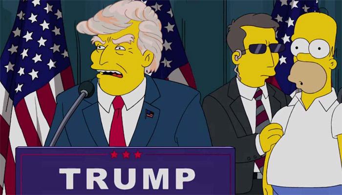 Las predicciones de Los Simpson desde el 9-11 hasta la presidencia de Trump