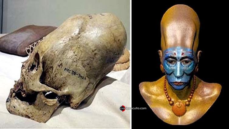 Cráneos alargados en Paracas