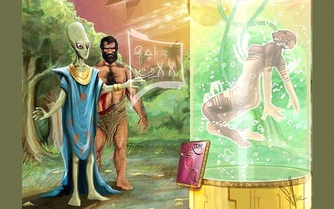 ¿Extraterrestres de algún tipo diseñaron genéticamente a la humanidad?