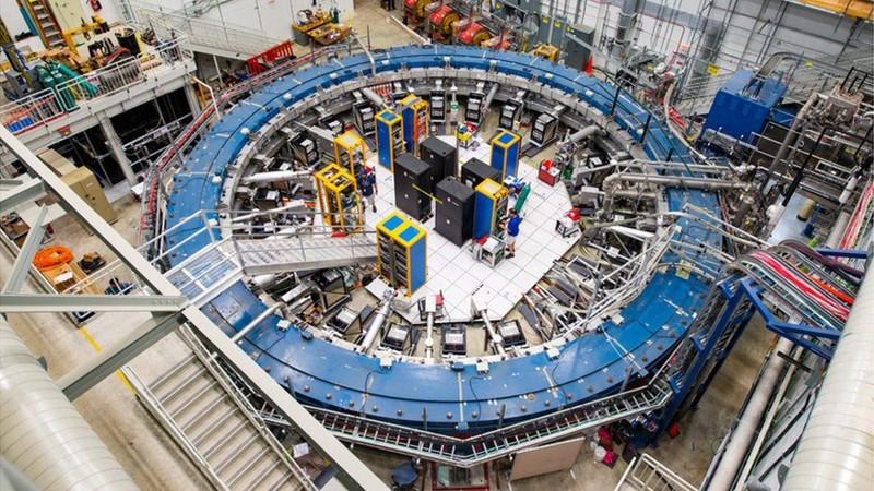 Los hallazgos provienen del experimento US Muon g-2