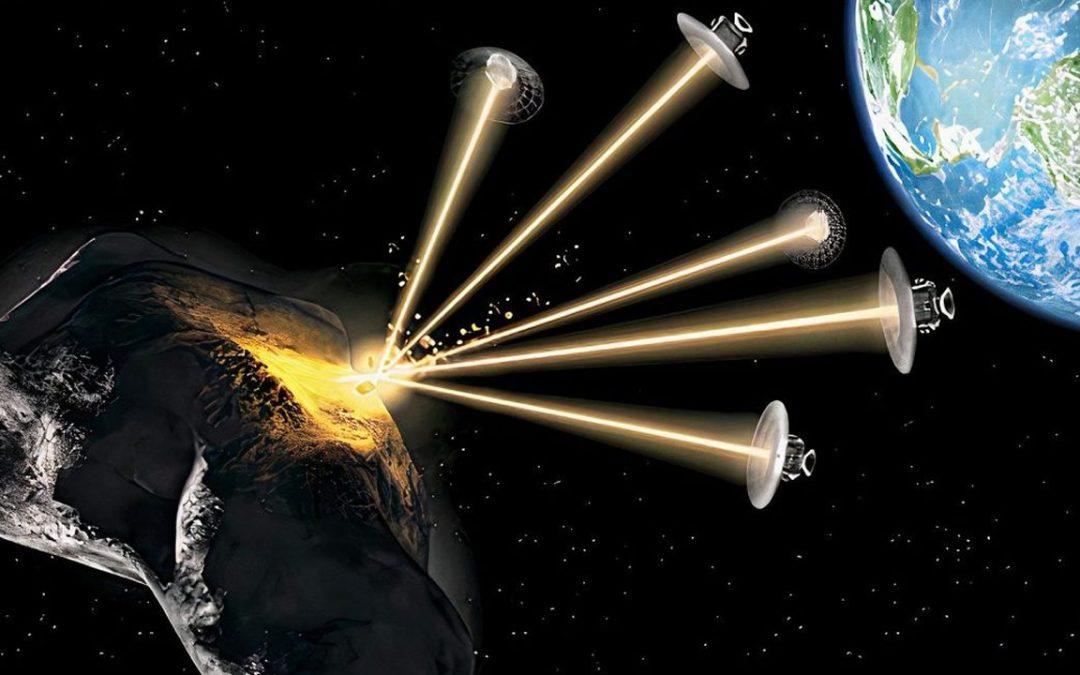 Desarrollan primer láser del mundo para disparar basura espacial fuera de órbita