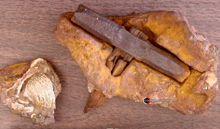 ¿Un martillo de millones de años de antigüedad?