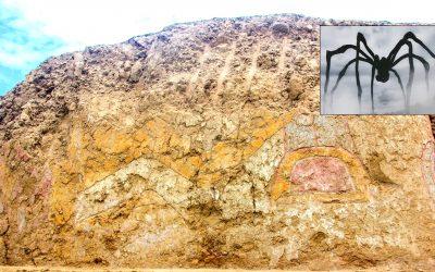 Hallan un mural de más 3.200 años de un «dios Araña» en La Libertad, Perú (VÍDEO)