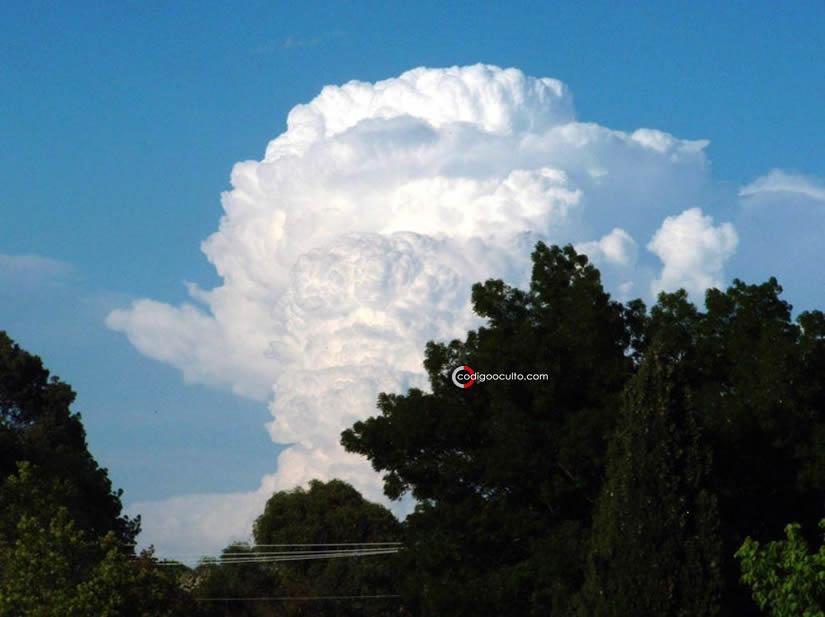 Una nube cumulonimbus
