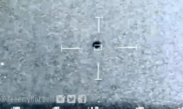 Imagen del OVNI cerca al USS Omaha