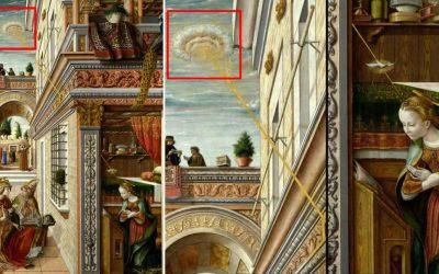 OVNIs en pintura del siglo XV ¿Evidencia de visitas en la antigüedad?