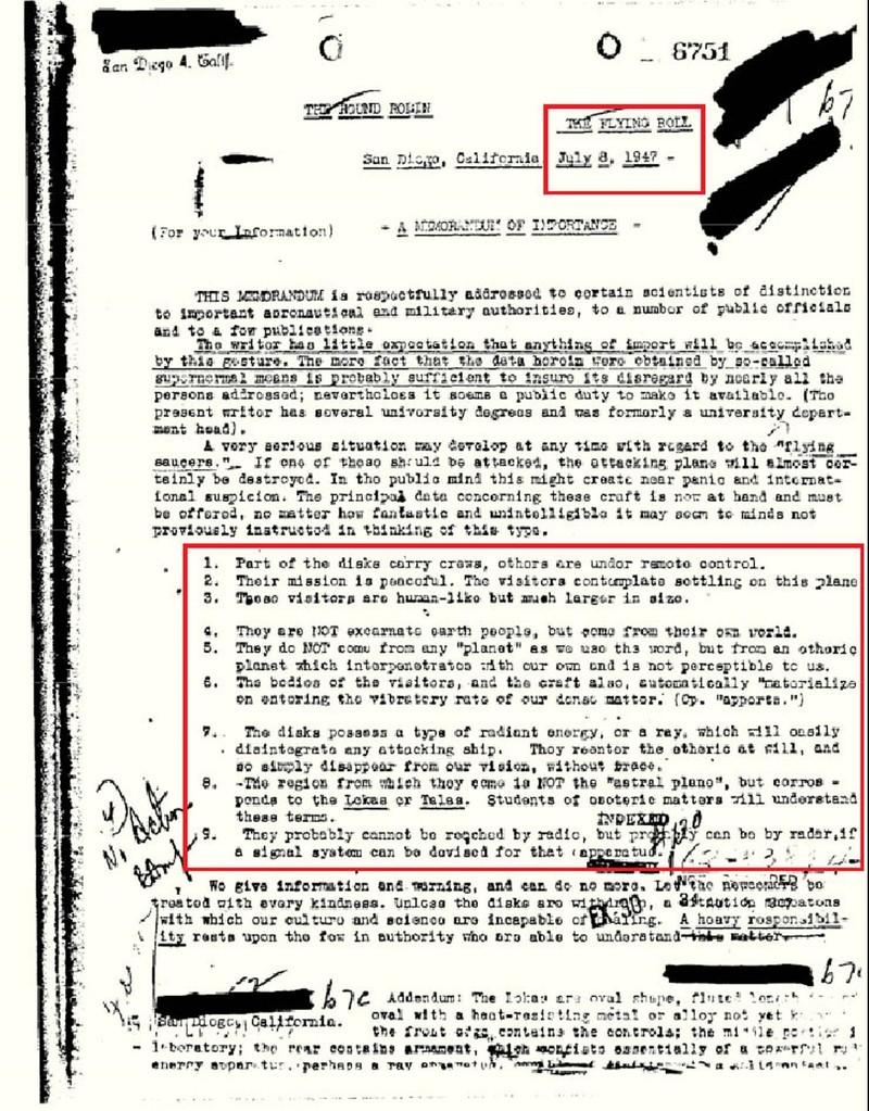 Memorándum 6751, el documento que hizo temblar Internet