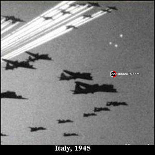 OVNIs durante la Segunda Guerra Mundial
