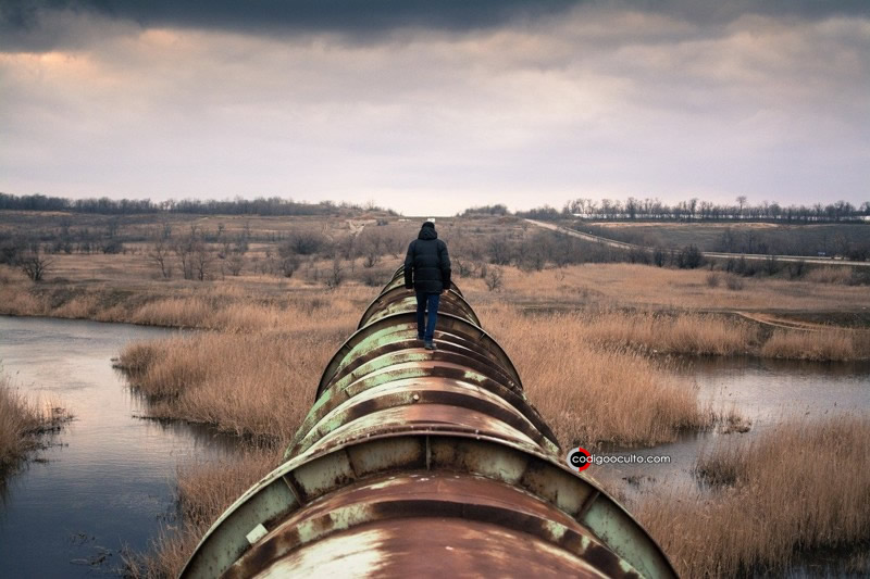 Tubería de petróleo