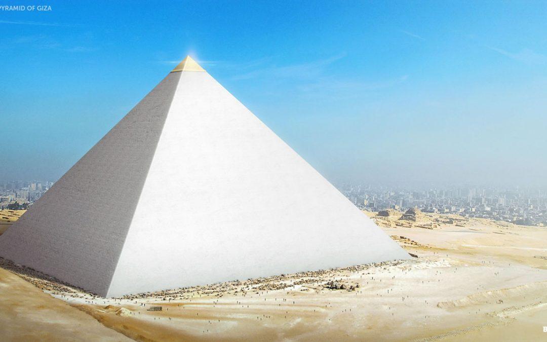 ¿Produjeron las pirámides egipcias reflejos que iluminaron otros lugares sagrados?