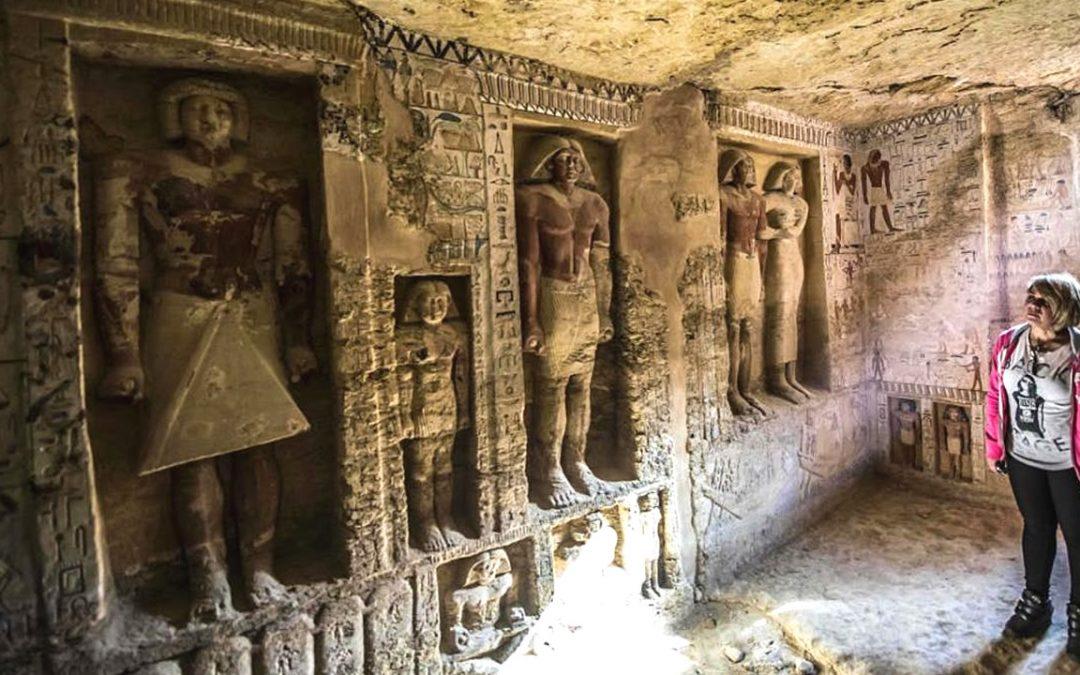 ¿A dónde conducen las Puertas Falsas de las Tumbas de Egipto? ¿Quién podía atravesarlas?