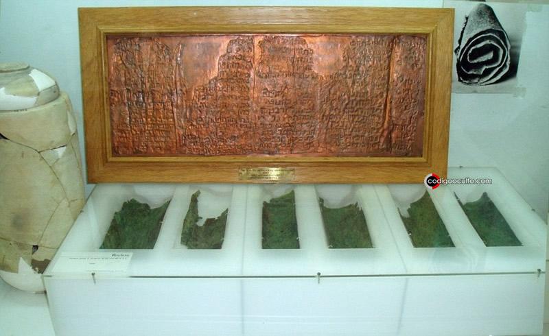Rollo de cobre del Mar Muerto