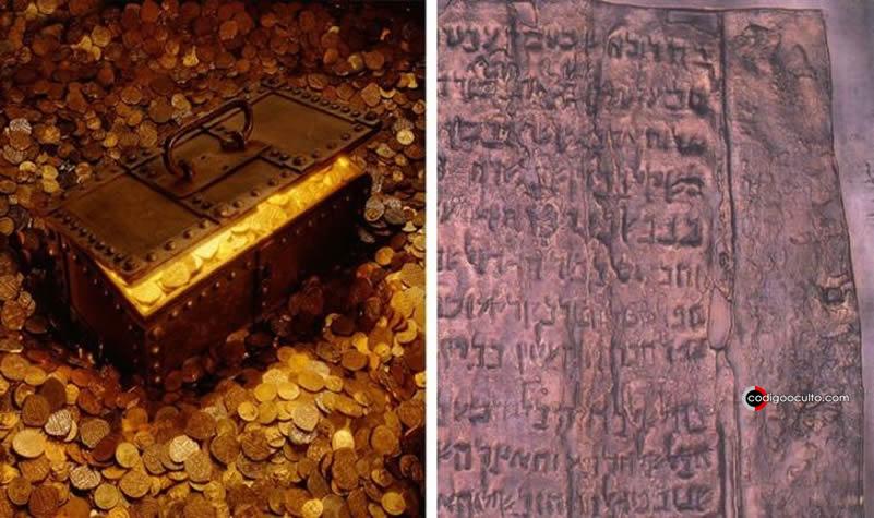 El misterio de los Rollos de Cobre del Mar Muerto
