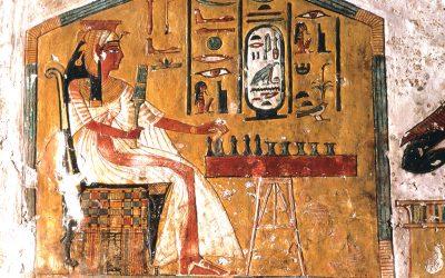 Senet, el juego de mesa del antiguo Egipto y Puerta al Inframundo