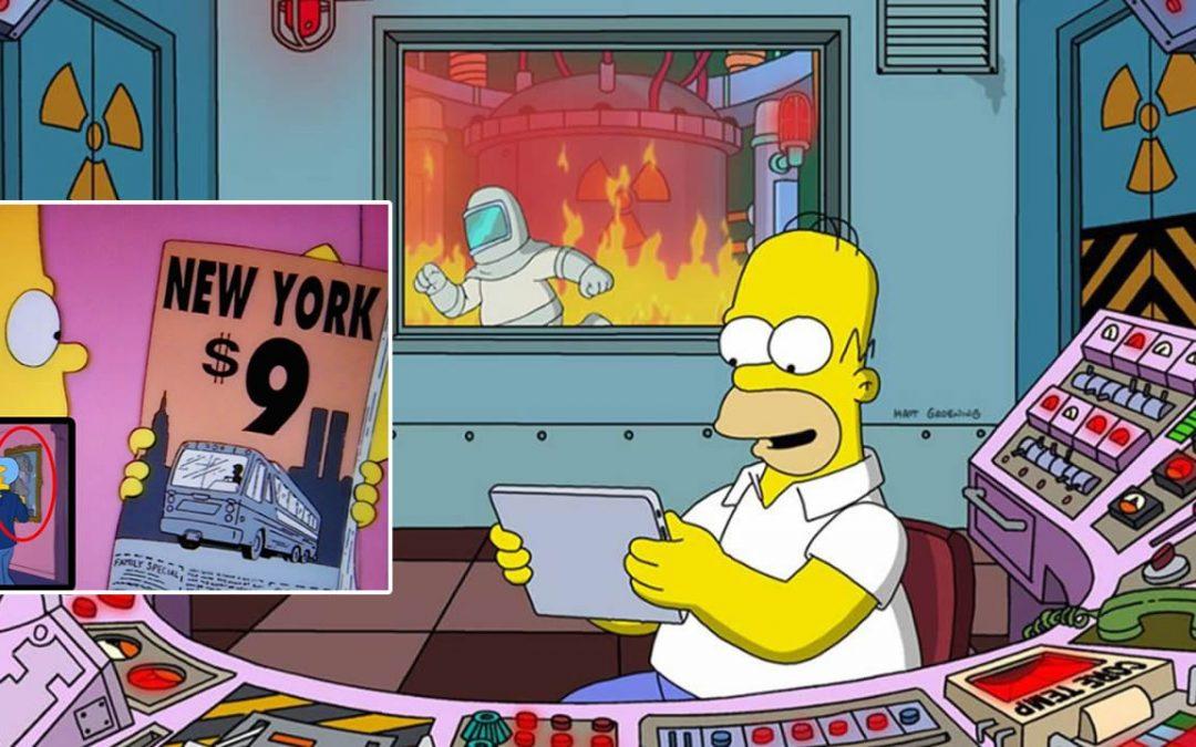 Cómo los Simpson se «adelantaron» al futuro (VÍDEO)
