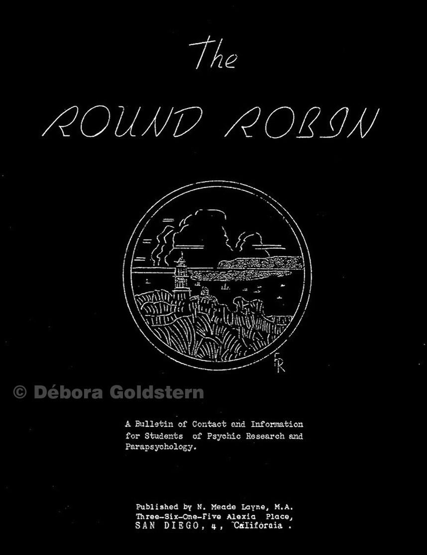The Round Robin, el boletín creado Newton Mead Layne en 1945
