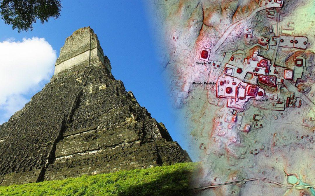 Descubren una estructura similar a Teotihuacán en la ciudad maya Tikal