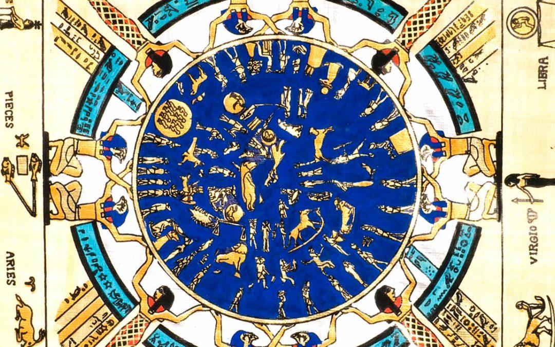 Zodiaco de Dendera: mapa de las estrellas creado por los antiguos egipcios