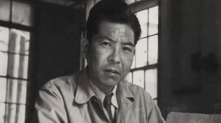 Tsutomu Yamaguchi, como un joven ingeniero