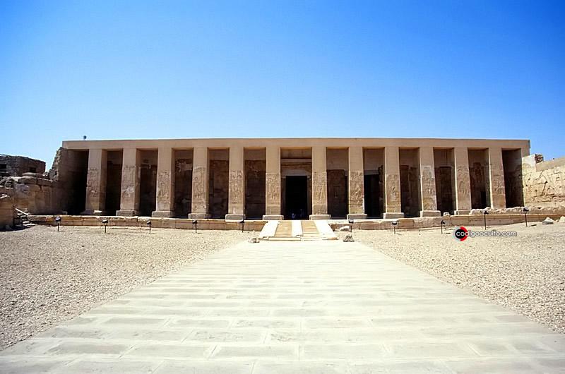 Templo de Seti I, Abydos, Egipto