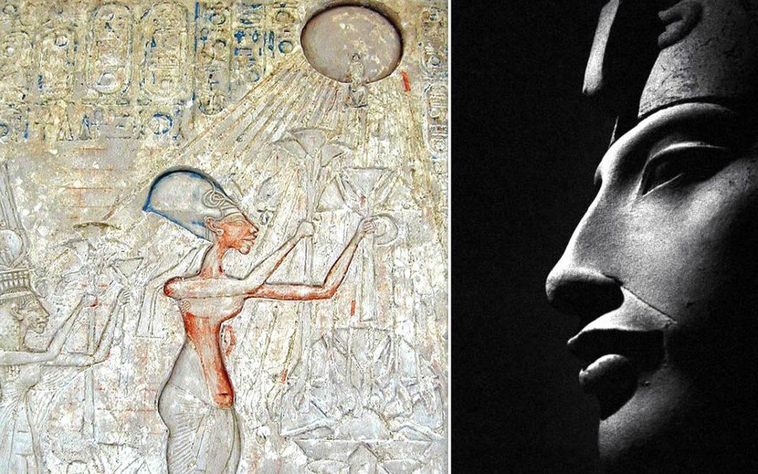 Akenatón y su Revolución: el faraón que eliminó miles de dioses y declaró al Sol como único dios