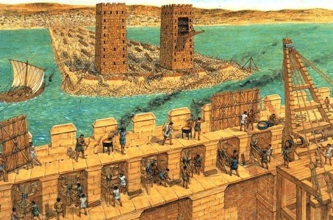 El asedio de Tiro