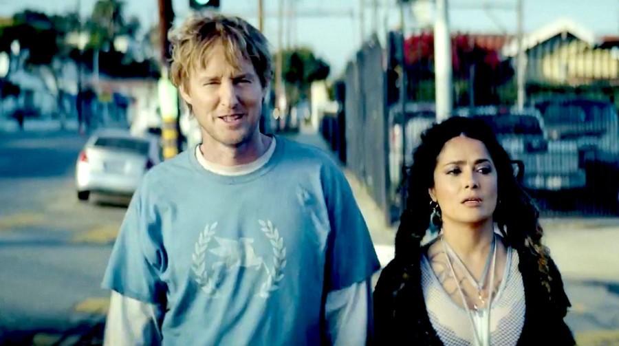 Escena de la película Bliss, en que los protagonistas se encuentran en un mundo simulado o falso