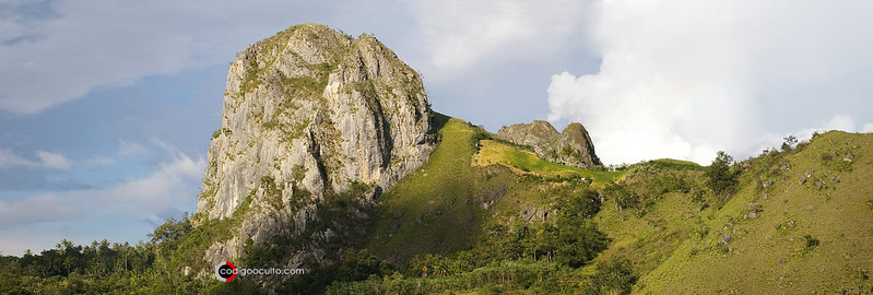 Karsts de piedra caliza en Sulawesi, Indonesia