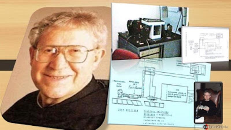 Ernetti quién hasta su muerte en 1994 afirmó que el Cronovisor era una realidad sacrosanta