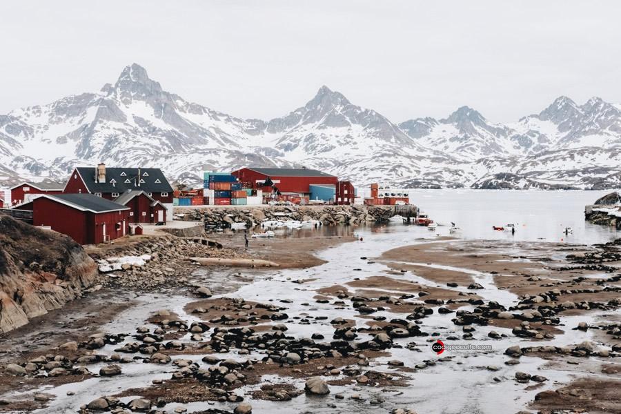Mercurio está contaminando las costas debido al derretimiento de glaciares en Groenlandia