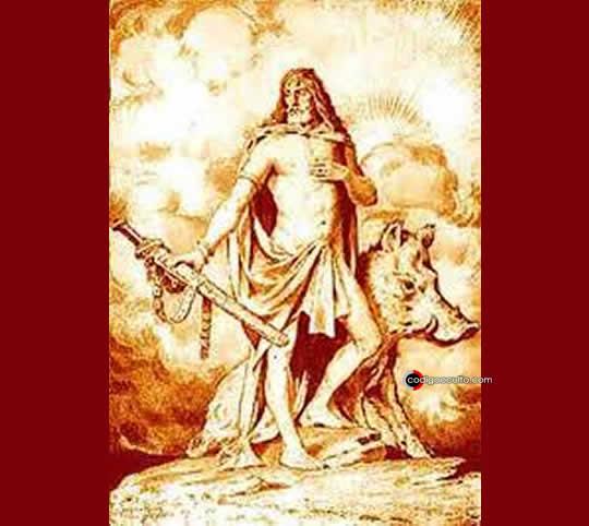 Representación del dios Freyr