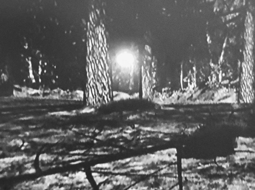 Supuesta fotografía del orbe brillante relacionado al caso Rendlesham Forest