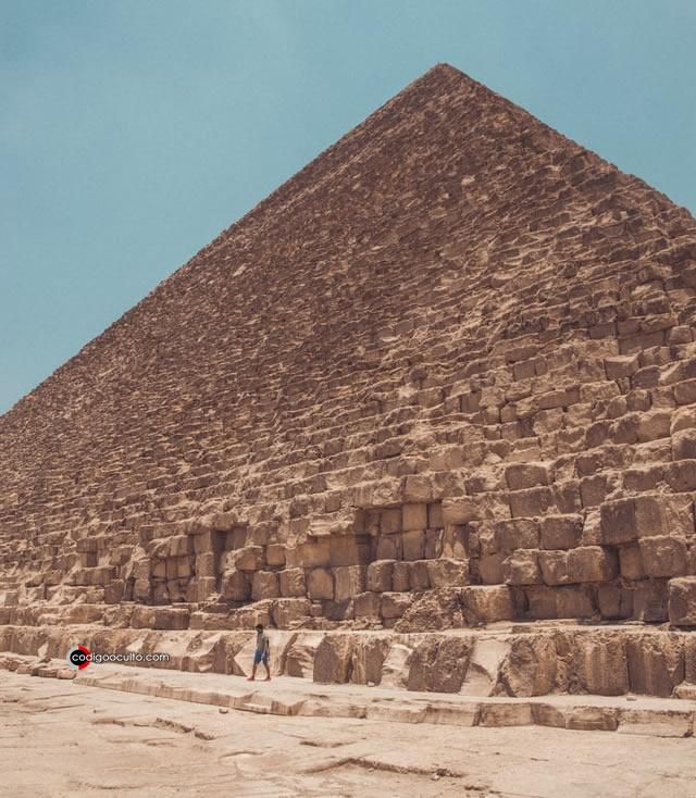 Maravilla de la antigüedad, la Pirámide de Giza