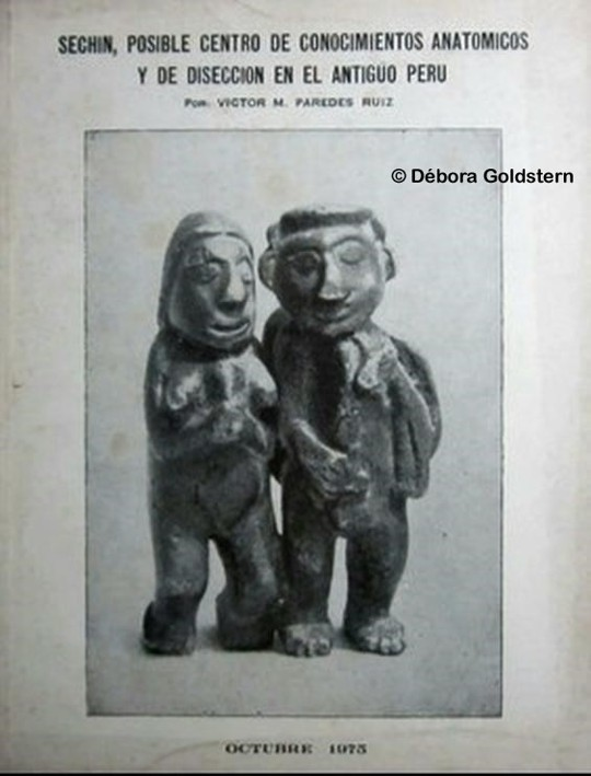 El libro del estudioso peruano Paredes Ruiz, publicado en 1975, que propone a Sechín como epicentro de avanzados conocimientos médicos