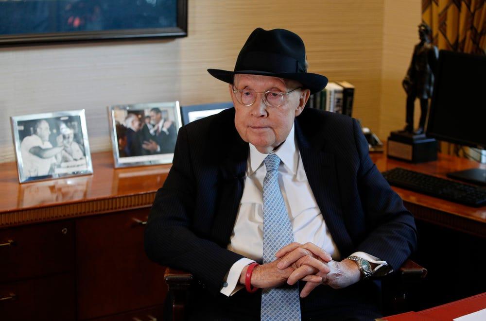 El ex Senador Harry Reid en su Oficina en Las Vegas