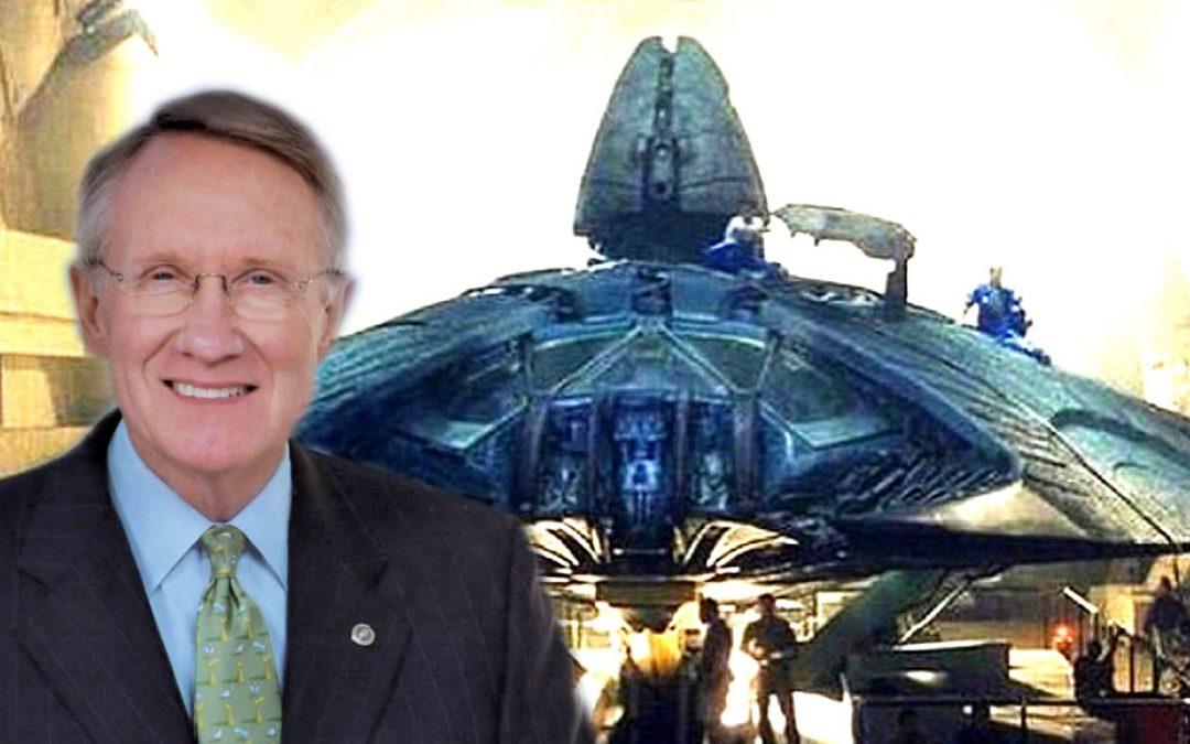 «No me permitieron ver restos de OVNI caído», dice Harry Reid, ex senador de EE. UU.