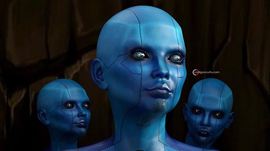 Representación de seres sintéticos con inteligencia artificial