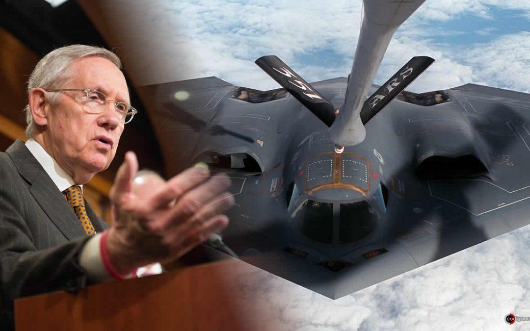 Compañía Lockheed Martin puede tener fragmentos de OVNIs, dice ex senador Harry Reid