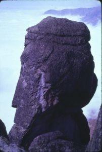 Otras de las curiosas formaciones de Marcahuasi, llamado el Filósofo