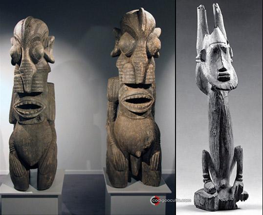 Esculturas de los Nommo