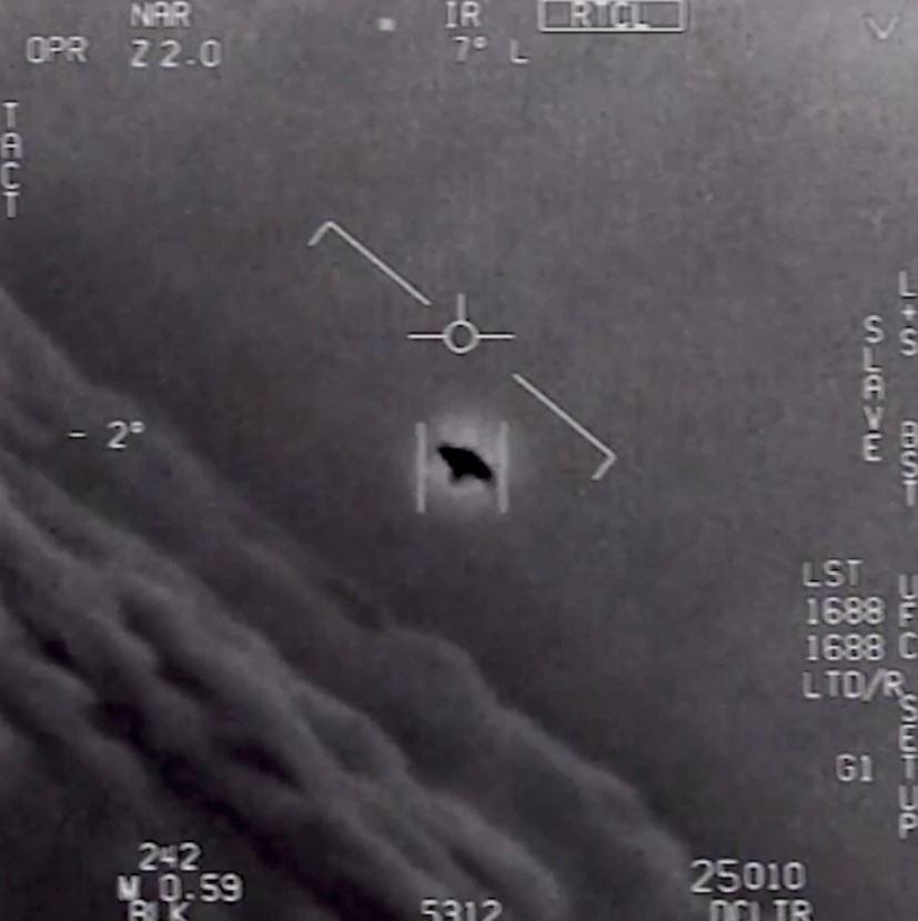 OVNI «Gimbal» capturado en vídeo por pilotos de la Marina de EE. UU.